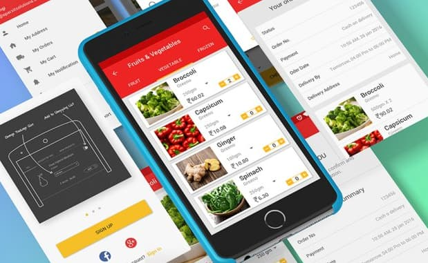 grocery mobile applications