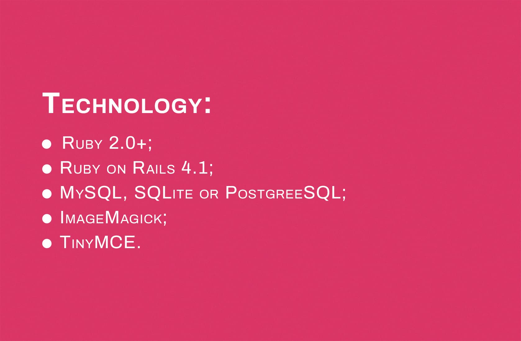options for Ruby on Rails Content Management System platforms