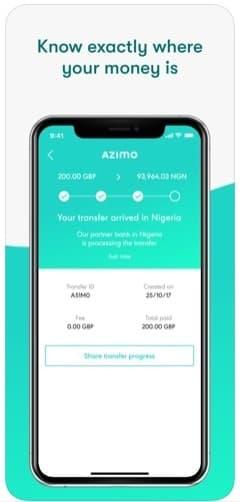 Money transfer apps