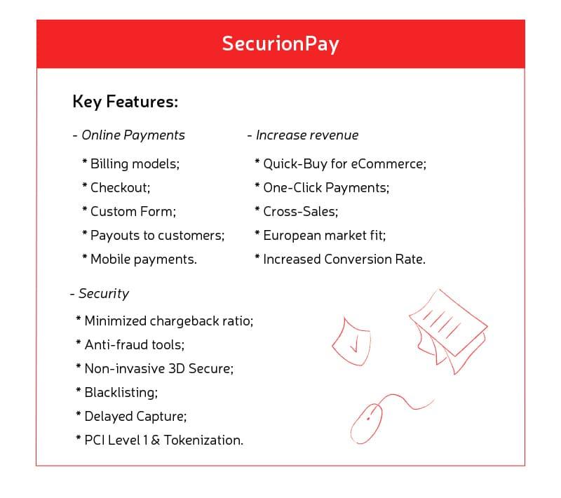 key API features