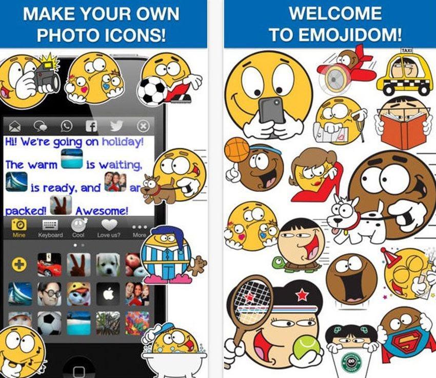 how to create an emoji app