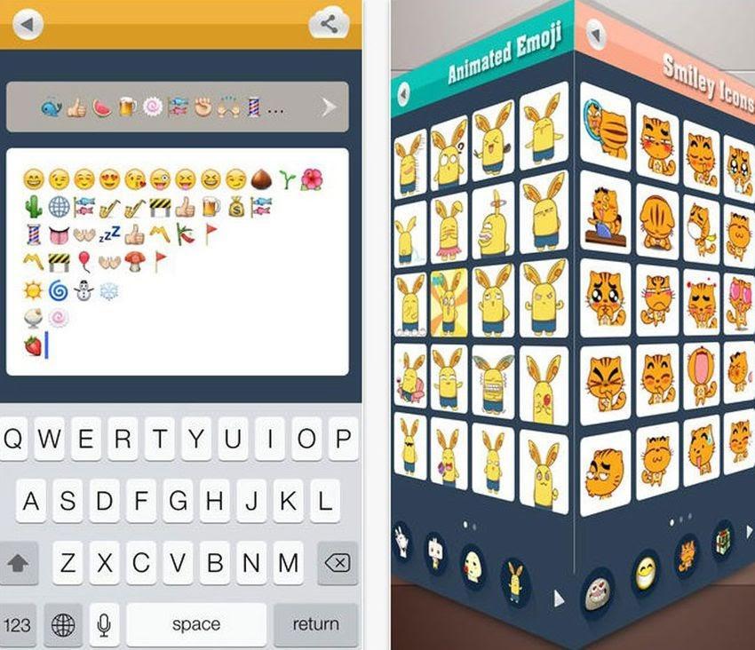 how to create an emoji keyboard app