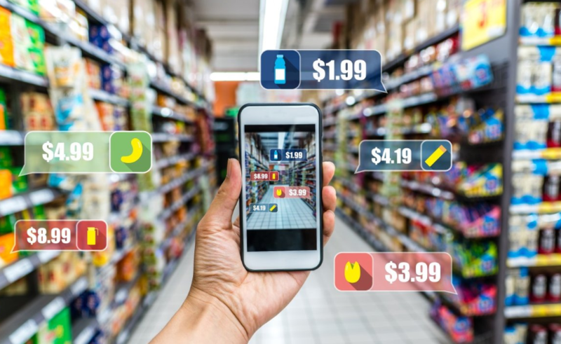 develop an app for groceries