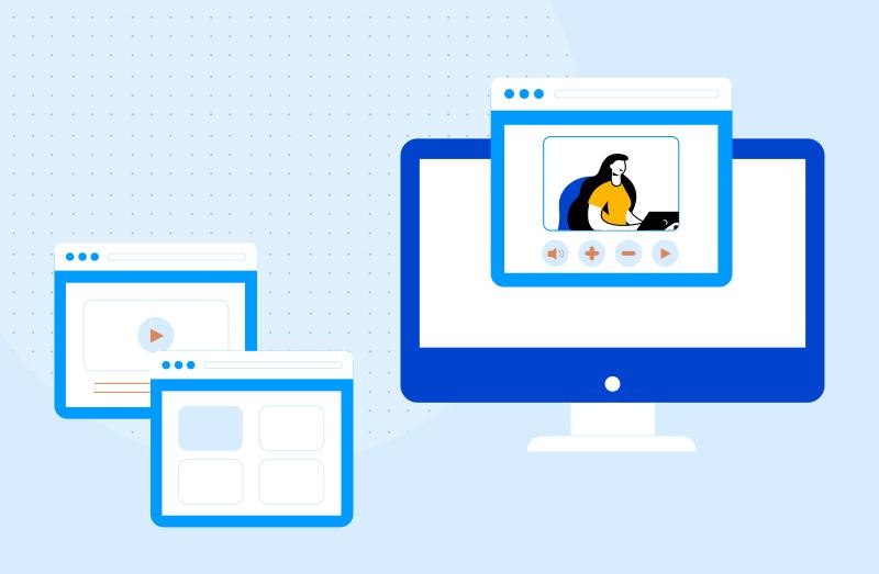 create video streaming website