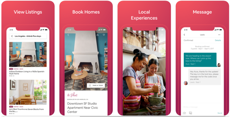 concept of minimal app design