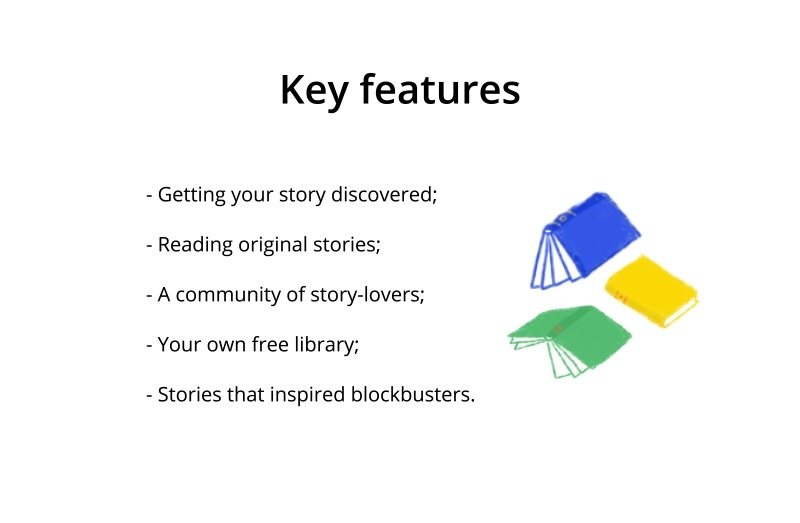 creating an app for reading books