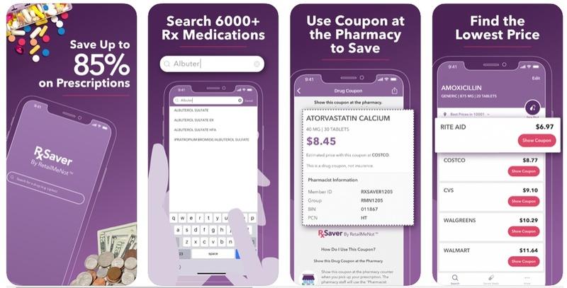 Prescription drug apps