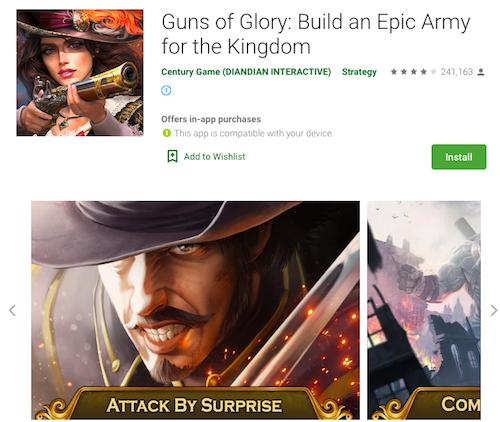 styles of app store screenshots