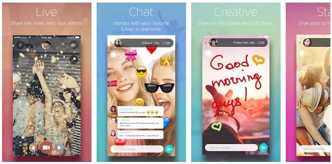 styles of app store screenshots nowadays