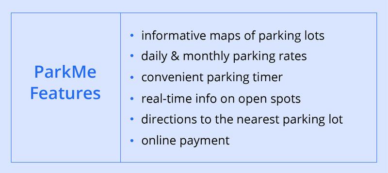building a car parking finder app