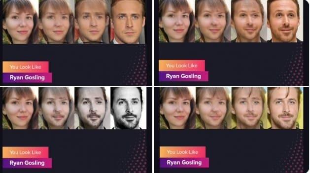 build an application like a celebrity look-alike