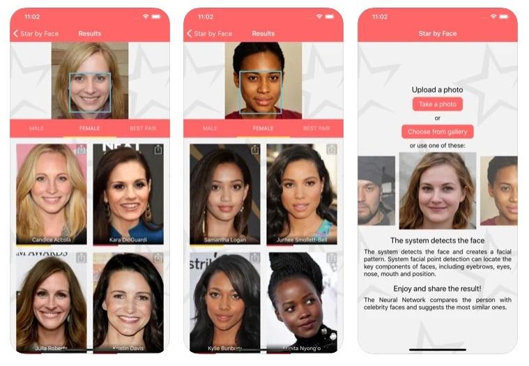 celebrity look alike app solutions