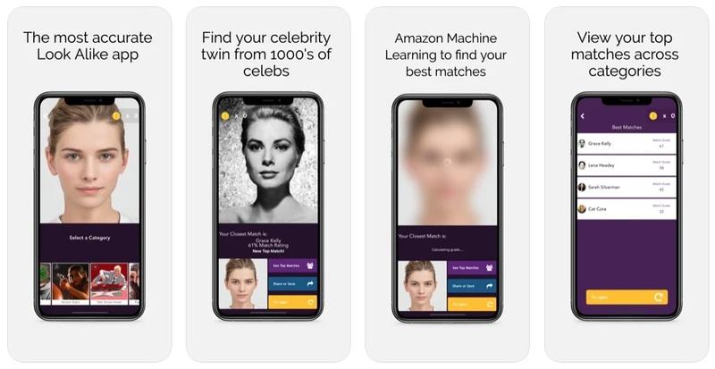 Faceapp recognition