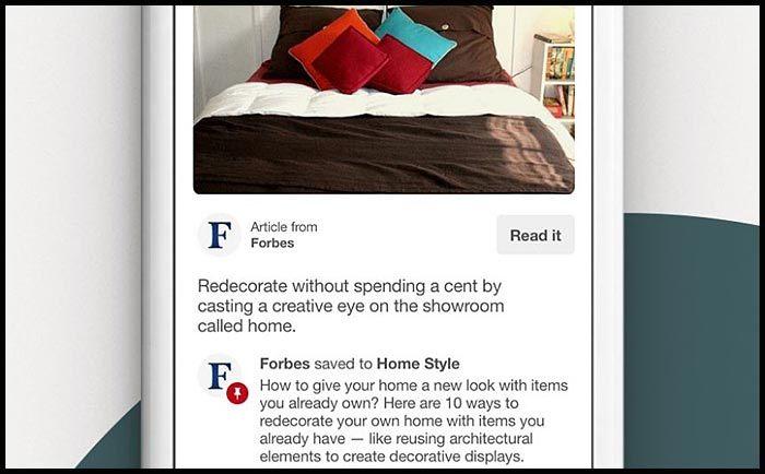 make an app like Pinterest