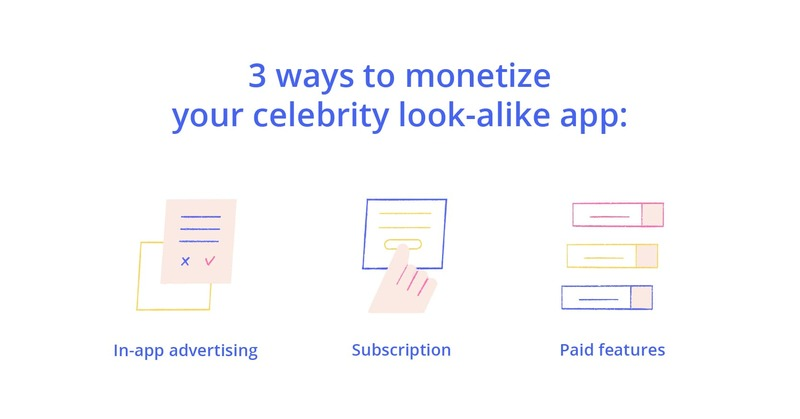 celebrity look alike apps can make money