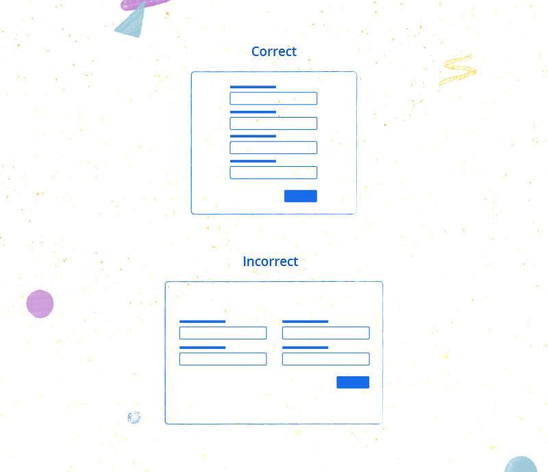 basic form usability
