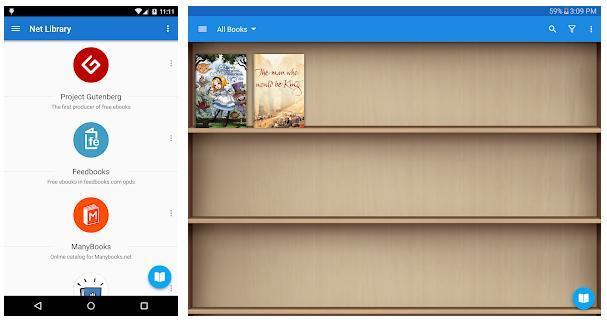 e-reading apps