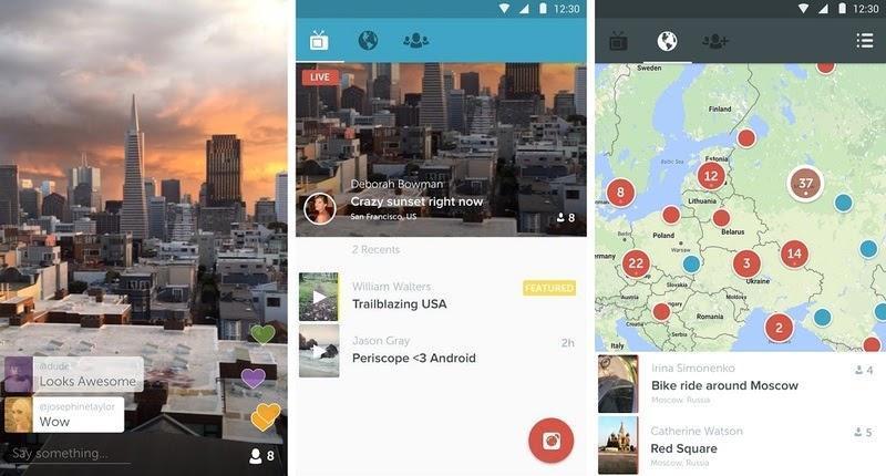 periscope screenshots