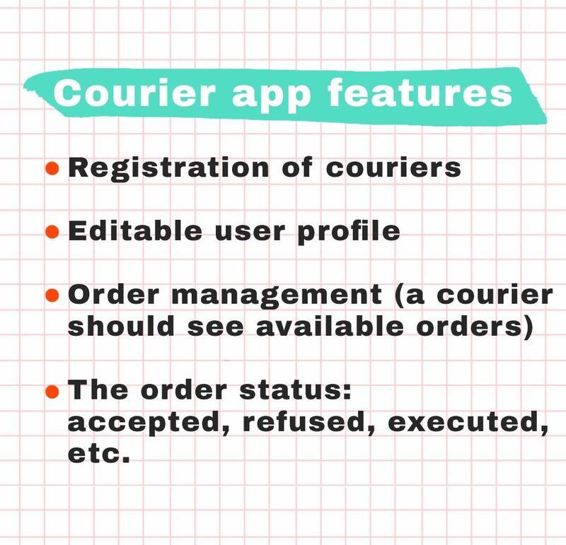 how to make an app like postmate