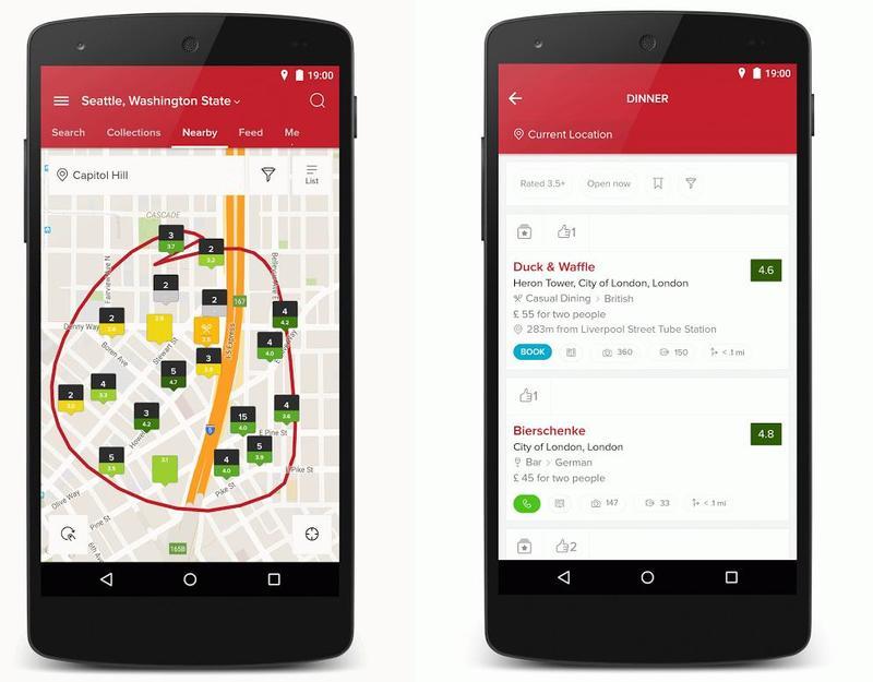 create a restaurant app