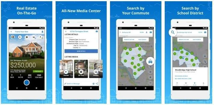 real estate app features