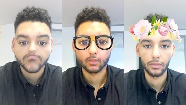face filter app like snapchat