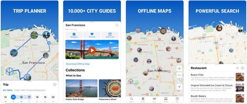 travel-related smartphone app