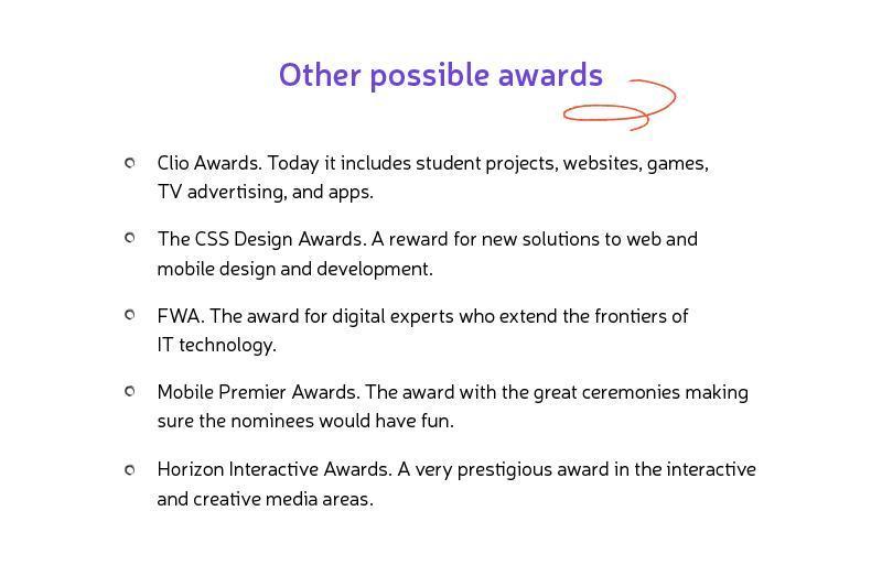 winning mobile apps