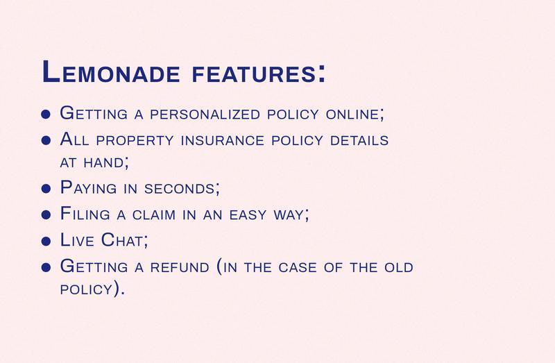 insurance app features