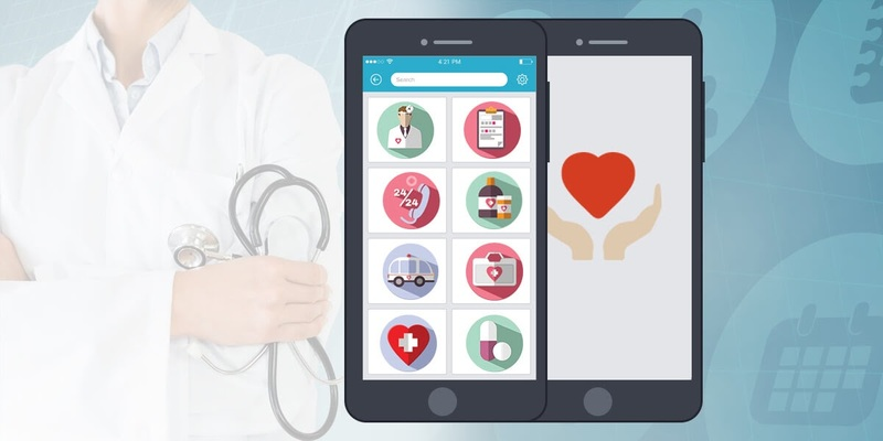 develop a mobile app for a hospital