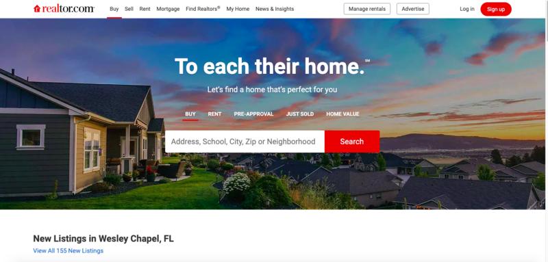 Great real estate websites