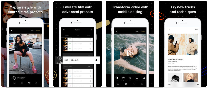 create a photo editing app