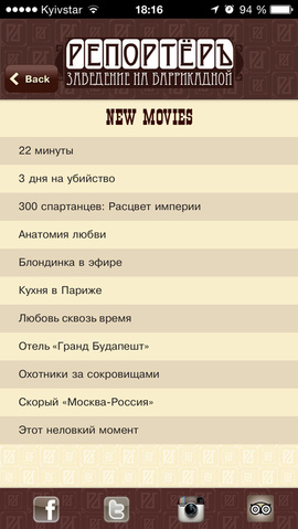 мобильные приложения для кинотеатров