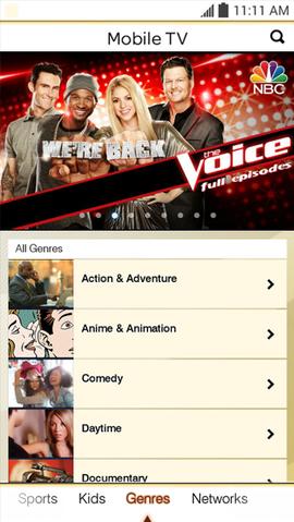 app mobile tv