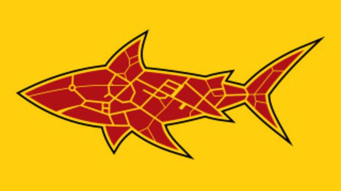 мобильное приложение такси, приложение такси SharkTaxi logo