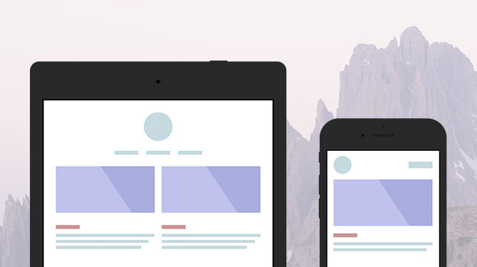 Adaptive Web Design service image