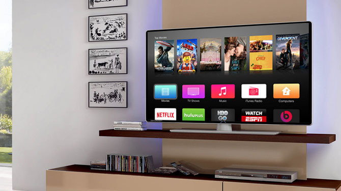 Apple TV app development  service image